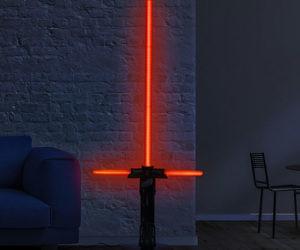 Lightsaber Floor Lamp