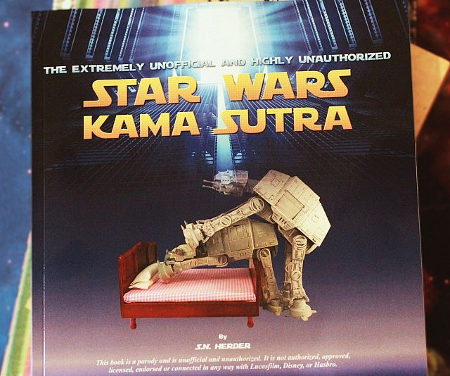 Star Wars Kama Sutra Book - coolthings.us