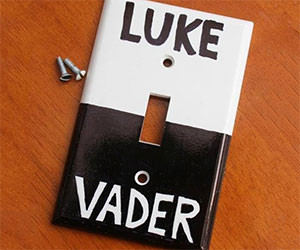 Star Wars Alliances Light Switch