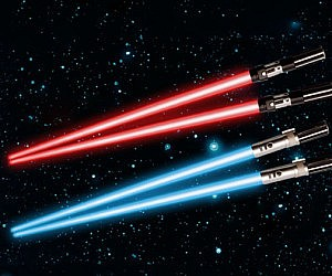 Light Up Lightsaber Chopsticks