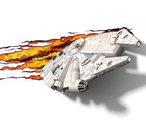 Star Wars Millennium Falcon 3D Light