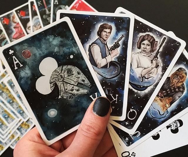 Star Wars Spielkarten