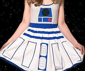 Star Wars R2-D2 Dress