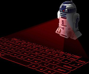 R2-D2 Keyboard Projector