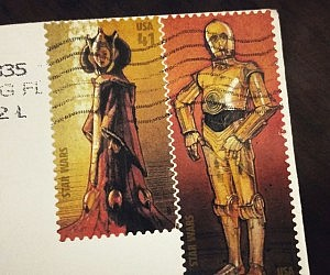 Star Wars Collectible Stamps
