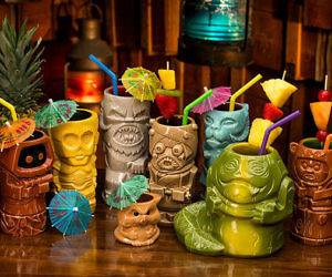 Star Wars Characters Tiki Cup Set