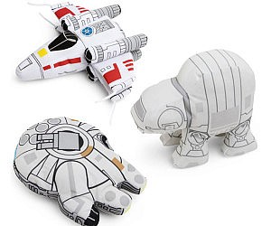 Star Wars Vehicle Plushies
