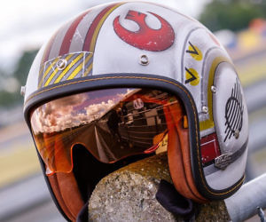 X-Wing Pilot Motorcycle He...