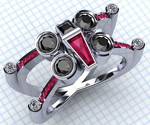Star Wars X Wing Ring