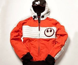 Wars XWing Pilot Hoodie - Hoodie will turn you into chewbacca from star wars