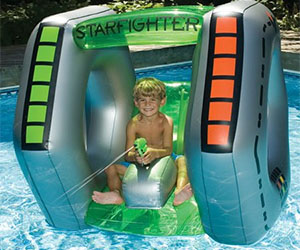 Spaceship Inflatable Pool Toy