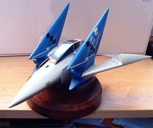 Star Fox Arwing Model Plane