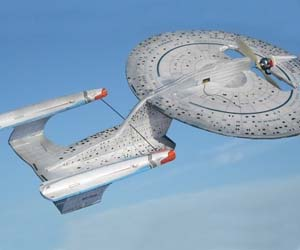 Starship Enterprise R/C Plane