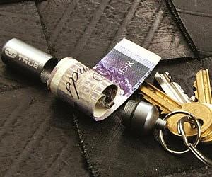 Keychain Stash Capsule