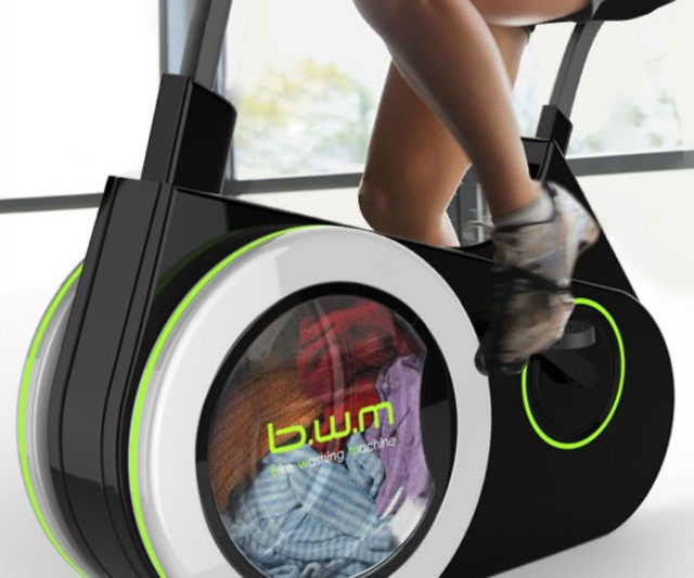 Bike Washing Machine >> Stationary Bike Washing Machine