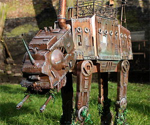 Steampunk Star Wars AT-AT Walker