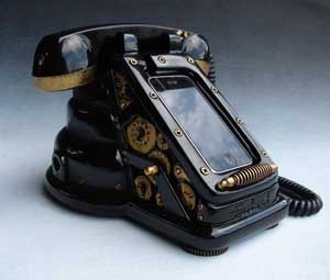 Steampunk iPhone Dock