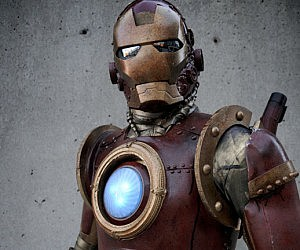 Steampunk Iron Man Suit