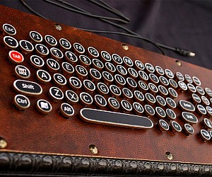 Steampunk Keyboard