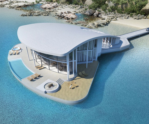 Floating Stingray Luxury Home