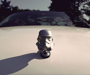 Stormtrooper Car Hood Ornament