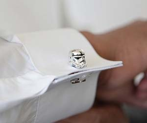 Stormtrooper Cuff Links