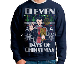 eleven days of christmas sweater