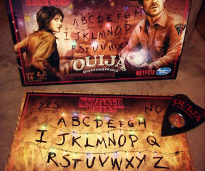 Stranger Things Ouija Board