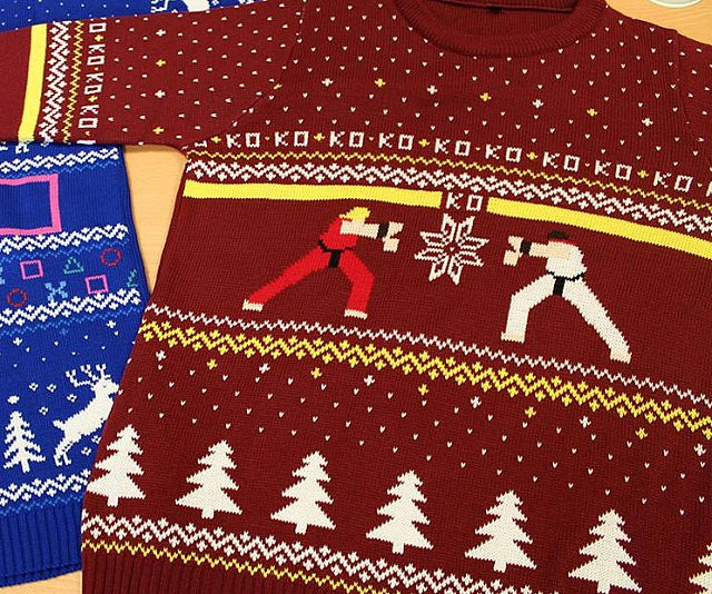 Fighter Ugly Christmas Sweater