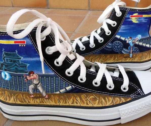 496c565d369d6a Street Fighter Converse Shoes