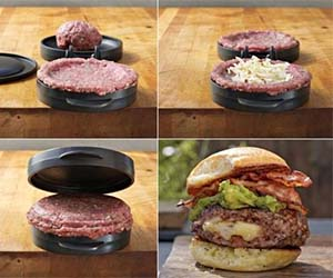 Stuffed Hamburger Press