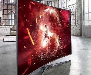 Curved Smart LED TV