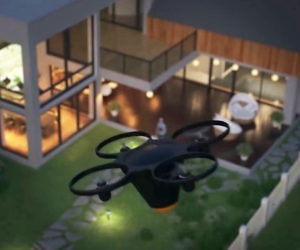 Drone Home Security System