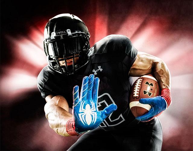 Superhero Football Gloves a30af11faa44