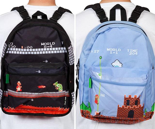 deb7b0e13a Super Mario Bros Reversible Backpack