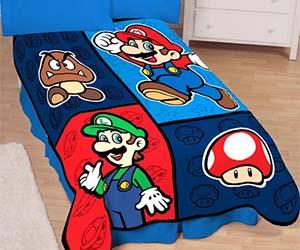 Lovely Super Mario Blanket