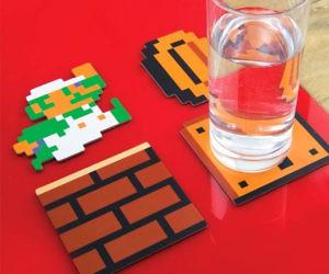 Super Mario Bros Coaster Set