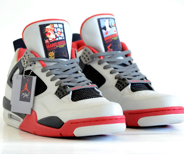 reputable site eb887 b5611 Air Jordan NES IV Retro Sneakers