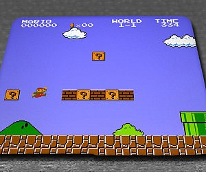 Super Mario Bros Mouse Pad