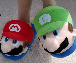 Super Mario Bros. Slippers