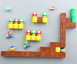 Super Mario Refrigerator Magnets
