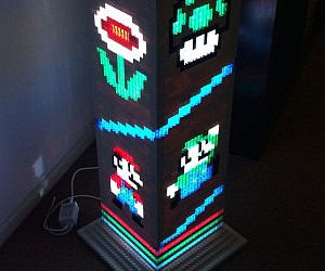 LEGO Super Mario Bros Lamp