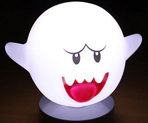 Super Mario Motion Sensor Boo Lamp