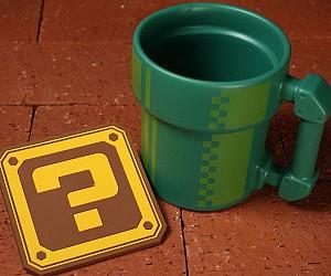 Super Mario Pipe Coffee Mug a5d1a410ba