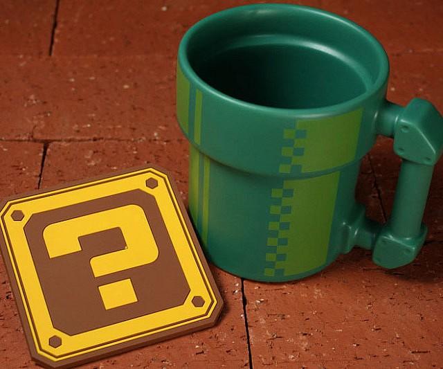 Super Mario Pipe Coffee Mug