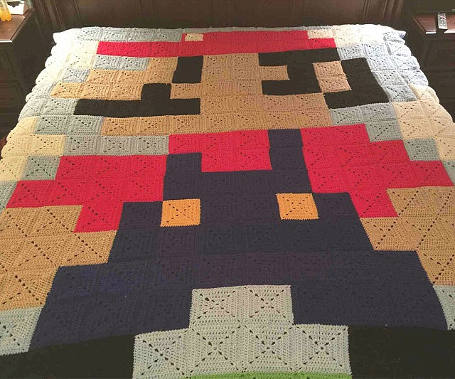Game Character Quilts : video game quilt pattern - Adamdwight.com