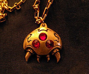 Super Metroid Necklace