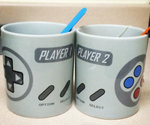 Super NES Controller Mugs