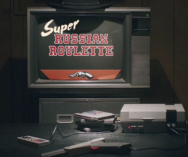 Super Russian Roulette NES Party Game