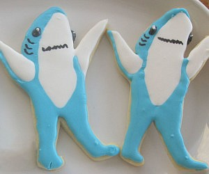 Superbowl Left Shark Cookie Cutter